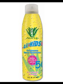 Aloe Up Lil Kids Sunscreen Spray SPF50