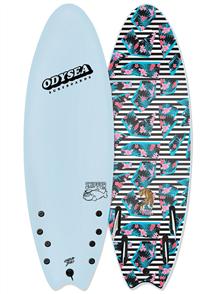 Catch Surf Job Stump Pro Thurster Softboard, Sky Blue 18