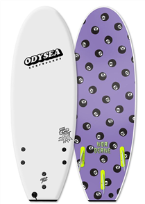 Odysea Noa Deane Stump Pro Thurster Softboard, White 18