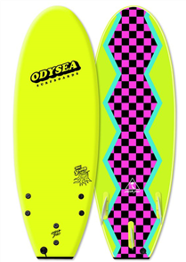 Odysea Stump Thurster Softboard, Electric Lemon 18