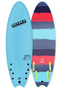 Odysea Skipper Quad Softboard, Cool Blue 18