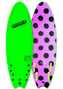 Odysea Skipper Quad Softboard, Lime 18