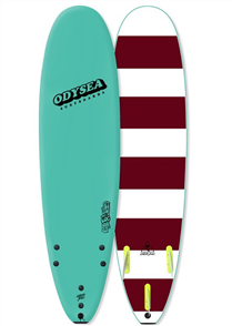 Odysea Log - Thruster Softboard, Turquoise 18
