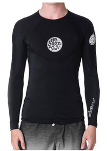Rip Curl Bomb Long Sleeve Uv Tee, Black