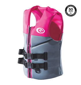 Rip Curl Womens Omega Buoyancy Vest, Pink