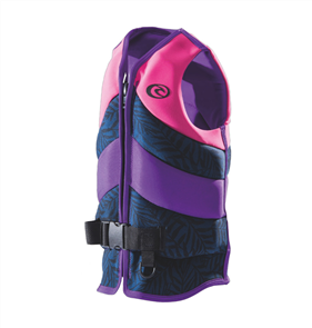 Rip Curl Youth D/Patrol Buoyancy Vest, Pink
