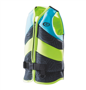 Rip Curl Youth D/Patrol Buoyancy Vest, Turquoise