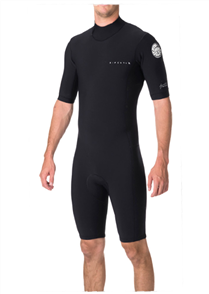 Rip Curl Aggrolite 2mm Back Zip Spring Suit, Black