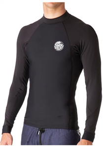 Rip Curl Flashbomb lined 0.5mm Long Sleeve Wetsuit Jacket, Black
