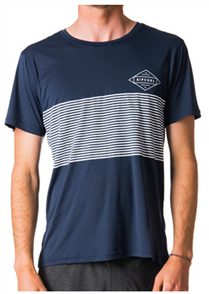 Rip Curl Linear Surflite Uv Tee, Navy