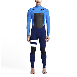 Hurley Boys Fusion 3/2mm Full Suit Wetsuit 40W, Photo Blue