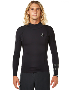 Hurley Mens Fusion 1/1mm Jacket, Black