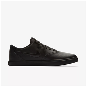 Nike Mens SB Check Solarsoft Shoe, Black Black