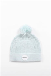 RPM Pom Pom Beanie, Light Blue