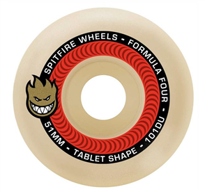 Spitfire SKATE F4 101 TABLETS NATURAL, 53mm