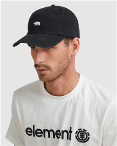 Element CA Bear Cap, Black Rinse