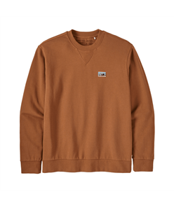 Patagonia Regenerative Organic Certified Cotton Crew Sweatshirt, Earthworm Brown