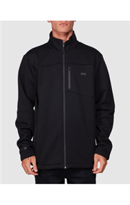 Billabong ADIV MAINLAND ZIP THRU FLEECE, BLACK
