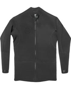 Vissla 2Mm Front Zip Jacket, Stealth