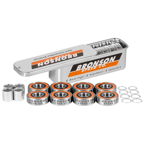 Bronson Speed BRONSON G3 BEARINGS 8 PACK