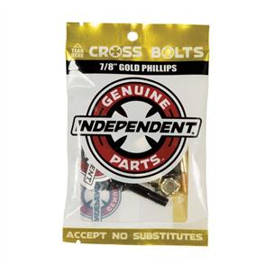 """Independent PHILLIPS HARDWARE BLACK/GOLD, 7/8"""""""
