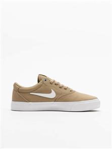 Nike SB Charge Canvas Shoe, Khaki/ White