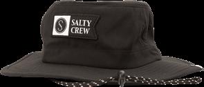 Salty Crew ALPHA TECH BOONIE, BLACK