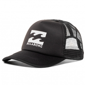 Billabong Podium Trucker, Black/ White