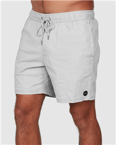 RVCA ESCAPE ELASTIC WALKSHORT, NATURAL