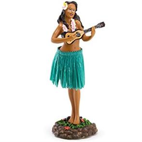 PlugNZ Dashboard Hula Doll - Ukelele Leilani