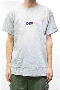 Def Bubblehead Tee, Heather Grey