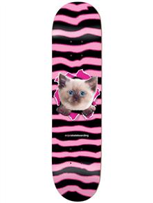 Enjoi Kitten Ripper HYB Deck, Pink