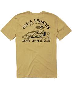 Vissla Shapers Club SS Tee, Ale