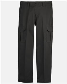 Dickies FLEX Relaxed Fit Straight Leg Cargo Pant, BLACK