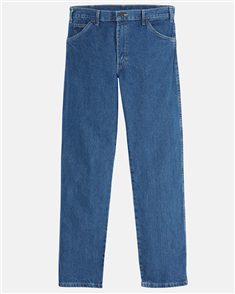 Dickies RELAXED STRAIGTH FIT JEANS, STONE WASHED INDIGO