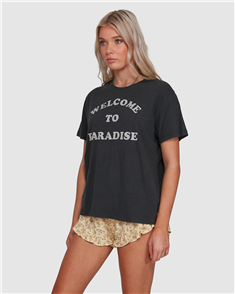 Billabong ECO PARADISE TEE, BLACK