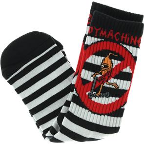 Toy Machine No Scooter Sock, Striped