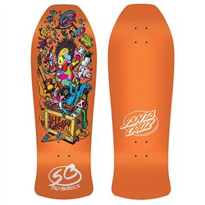 "Santa Cruz Grosso Toybox Candy Orange Reissue Size 10"""
