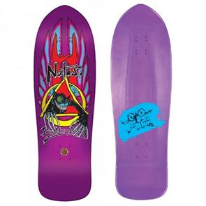 """Santa Cruz Natas Evil Cat Metallic Purple Reissue Size 10.13"""""""
