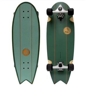 """SLIDE Grom Fish 30"""" Surf Skate Longboard Cruiser"""