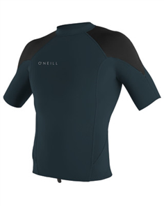 Oneill REACTOR II 1MM Short Sleeve CREW, Slate