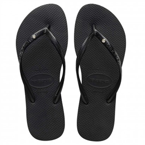 Havaianas Womens Slim Sw Crystal Black