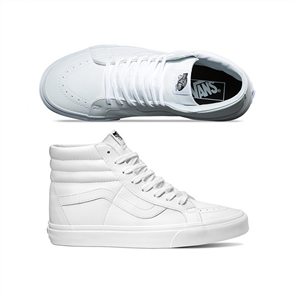 Vans Sk8-Hi Reissue (Clas Tmbl) White
