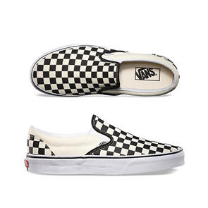 Vans CSO Slip on shoe, Black White Checker/White