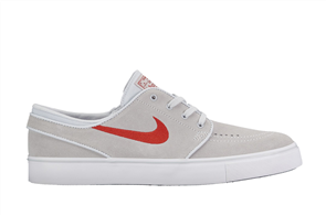 Nike SB Zoom Stefan Janoski Shoe, Pure Platinum University, Grey (060)