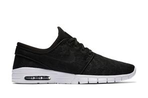 Nike Sb Stefan Janoski Max Shoe, Black White