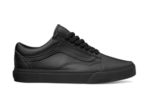 Vans Old Skool (Classic Tumble), Black Mono