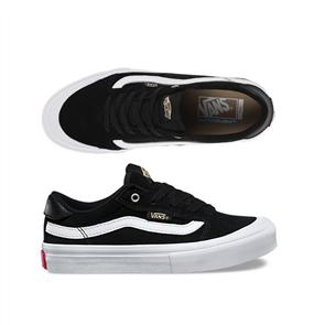 Vans Style 112 Pro Shoes, Black Black White