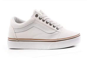 Vans Old Skool (Sun Faded) Shoes, Black White