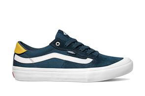 Vans Style 112 Pro Skate Shoe, Reflect Pond White
